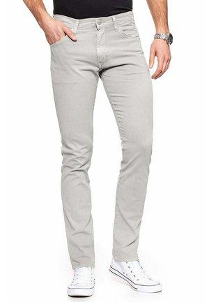 Spodnie materiałowe - stone grey