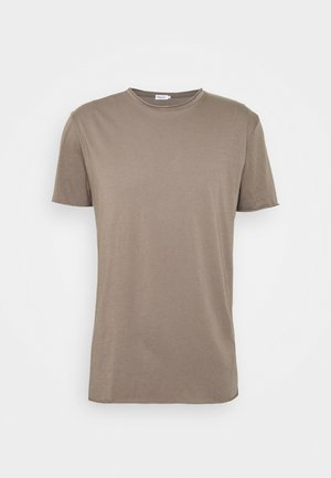 ROLLNECK - Basic T-shirt - dark taupe