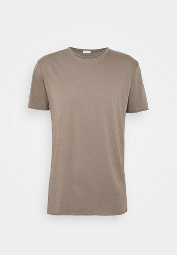 ROLLNECK - T-shirt basic - dark taupe