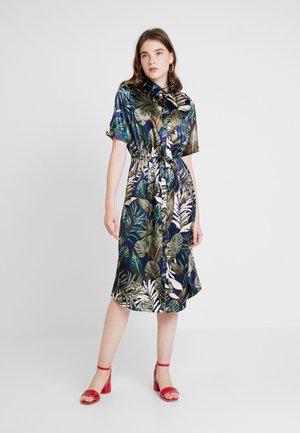 VMLEAVES DRESS - Shirt dress - night sky