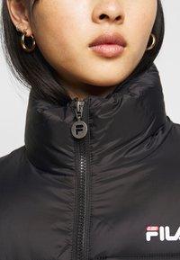Fila Petite - SUSSI PUFF JACKET - Winter jacket - black - 6