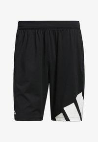 3 BAR SHORT - Sportovní kraťasy - black