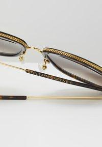 Stella McCartney - Sluneční brýle - havana/gold/brown - 4