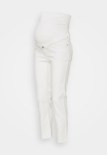 PANTS - Jeans straight leg - offwhite