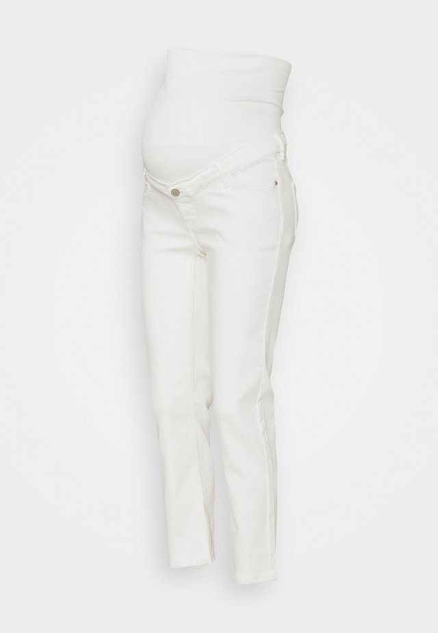 PANTS - Straight leg jeans - offwhite