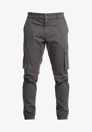 ONSCAM STAGE CUFF - Reisitaskuhousut - grey pinstripe
