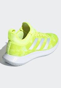 adidas Performance - DEFIANT GENERATION  - Multicourt tennis shoes - yellow - 3