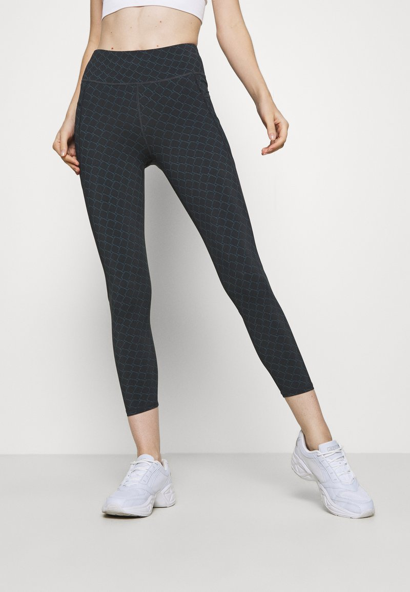 Sweaty Betty - GRAVITY 7/8 RUNNING LEGGINGS - Leggings - black