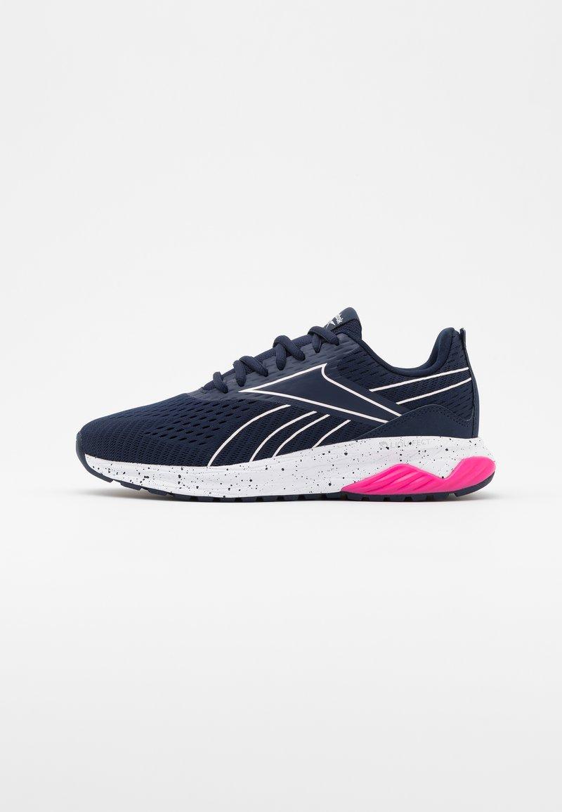 Reebok - LIQUIFECT 180 2.0 - Zapatillas de running neutras - vector navy/glass pink/pink