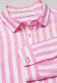 Eterna - MODERN CLASSIC - Button-down blouse - pink/weiss - 4