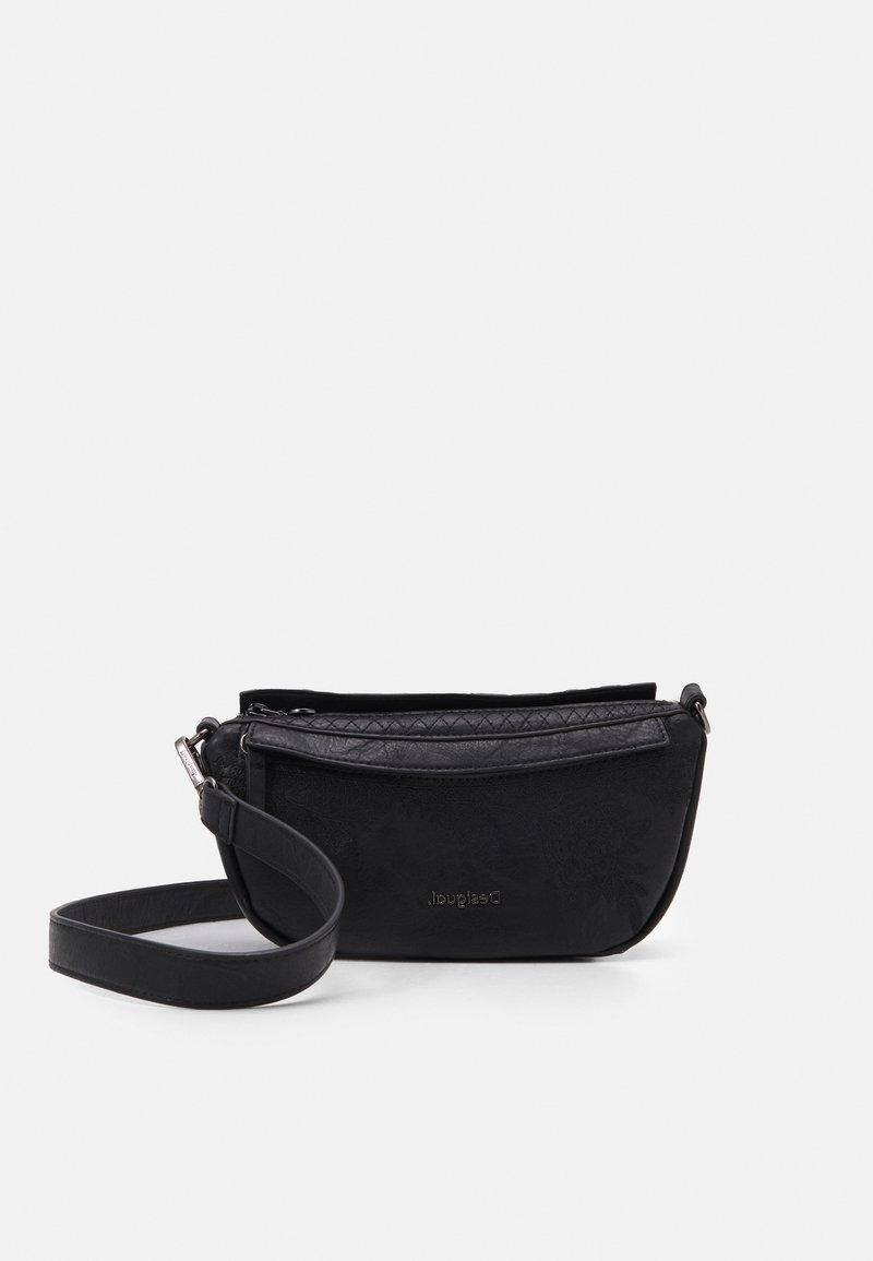 Desigual - BOLS LYRICS LUISIANA MEDIUM - Across body bag - black