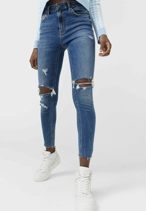Jeansy Skinny Fit - blue denim
