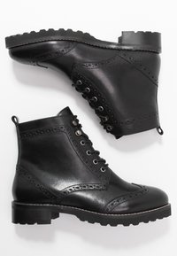 mint&berry wide fit - Lace-up ankle boots - black - 3