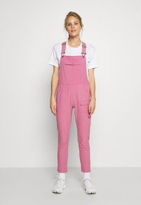 Burton - WOMENS CHASEVIEW OVERALL - Outdoor trousers - rosebud - 0