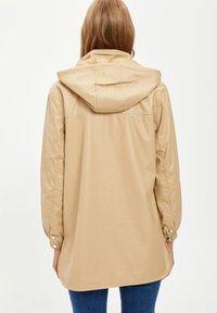 DeFacto - Waterproof jacket - beige - 1