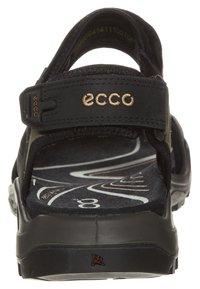 ECCO - OFFROAD - Walking sandals - black/mole/black oil - 1