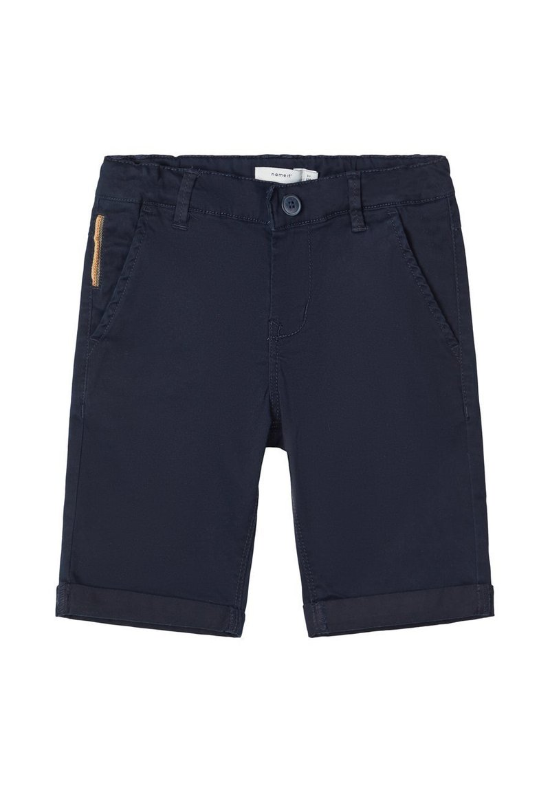 Name it - NAME IT CHINOSHORTS SLIM FIT - Shorts - dark sapphire