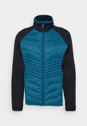 CLUMBER HYBRD - Giacca outdoor - blueopal/navy
