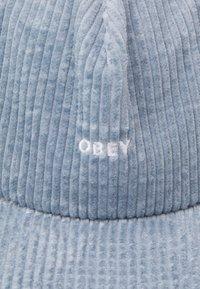 Obey Clothing - BOLD STRAPBACK UNISEX - Lippalakki - ice blue - 3