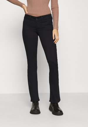 VMDINA FLARED - Jeans bootcut - black