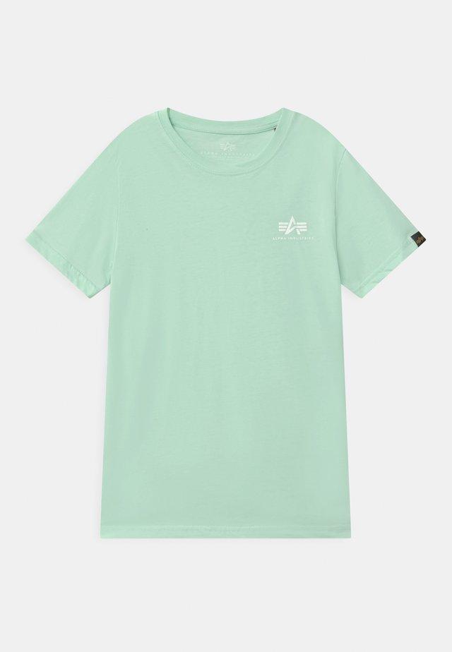 BASIC SMALL LOGO - T-shirt basic - mint