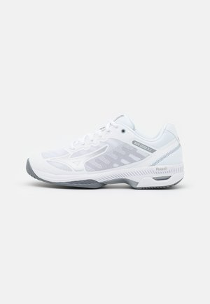WAVE EXCEED SL 2 AC - Multicourt tennis shoes - white/silver/sleet