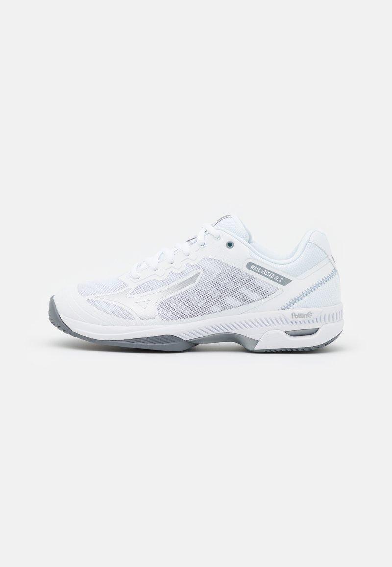Mizuno - WAVE EXCEED SL 2 AC - All court tennisskor - white/silver/sleet