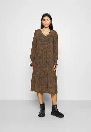 RIKKELIE DRESS - Day dress - brown
