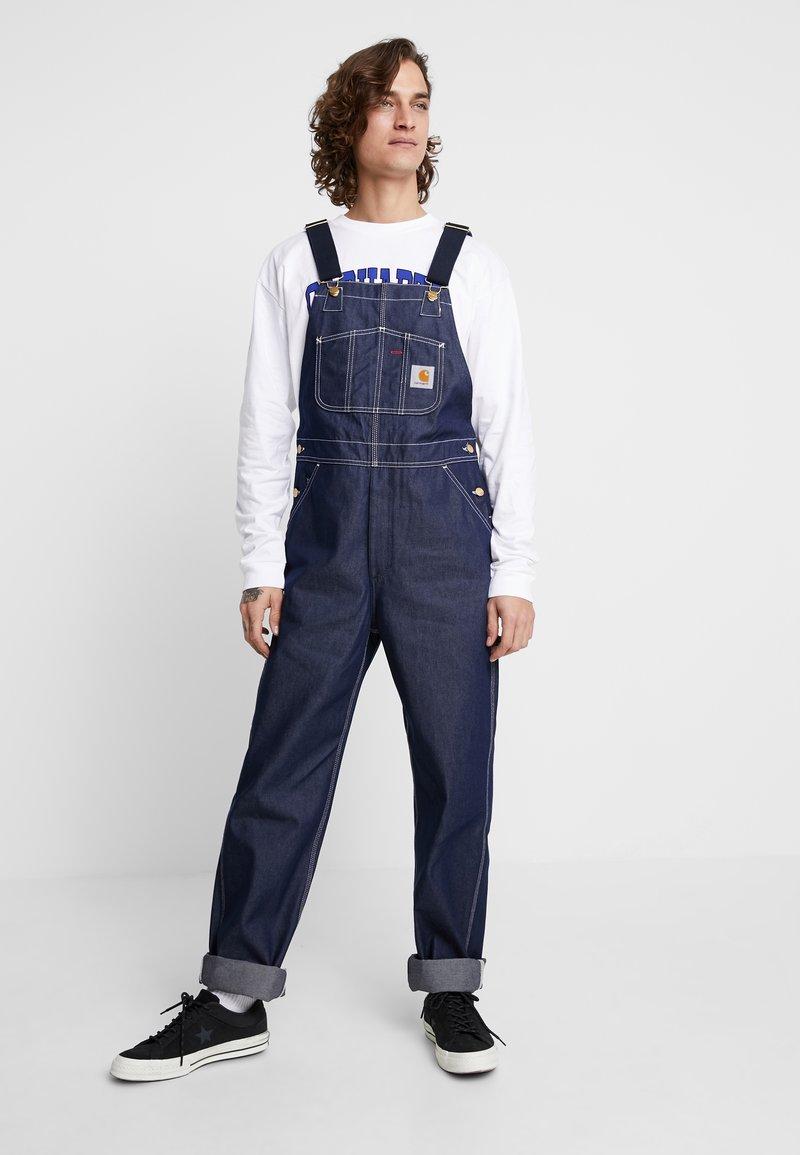 Carhartt WIP - SIMPLE PANT NORCO - Straight leg -farkut - blue rigid