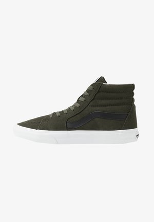 SK8 UNISEX - High-top trainers - forest night/true white