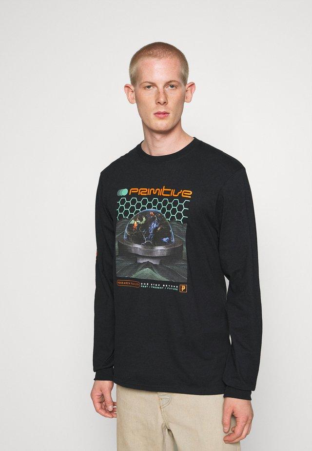 RESEARCH TEE - Långärmad tröja - black