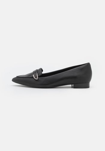 LAINA BUCKLE - Slip-ons - black