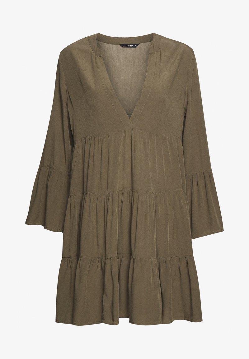 ONLY Petite - ONLNANCY ATHENA DRESS - Korte jurk - kalamata