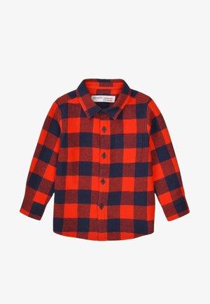 Overhemd - red/navy