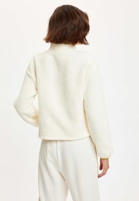 DeFacto - Fleece jacket - ecru