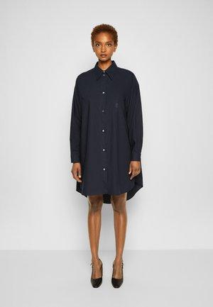 DRESS - Shirt dress - navy