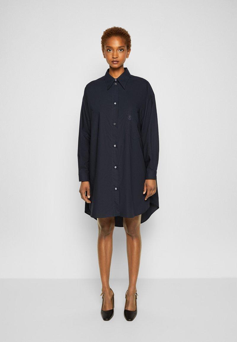 MM6 Maison Margiela - DRESS - Shirt dress - navy
