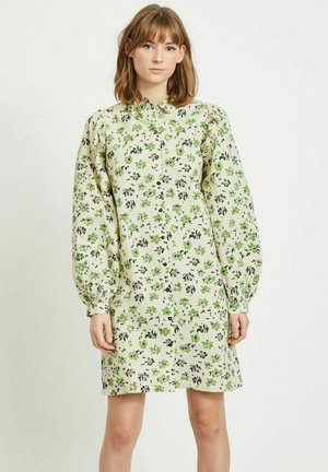 Shirt dress - sandshell