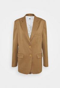 MM6 Maison Margiela - Short coat - camel - 4