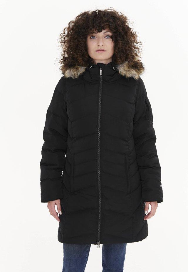 SUN VALLEY - Down coat - schwarz