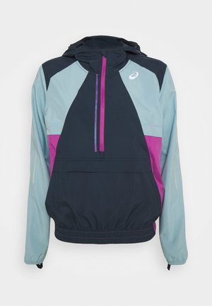 VISIBILITY JACKET - Veste de running - french blue/smoke blue/digital grape