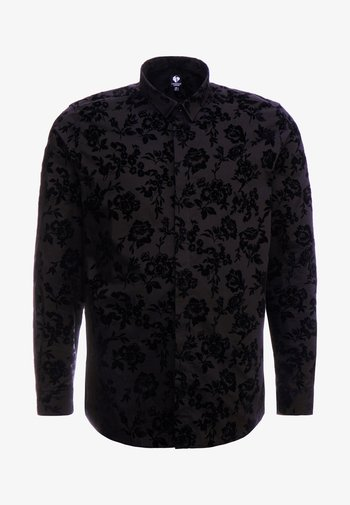 KATRIN FLORAL  - Camisa elegante - black