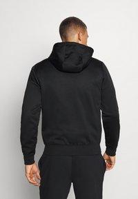 Lacoste Sport - TECH HOODIE - Zip-up hoodie - black - 2