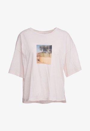 Triko spotiskem - soft pink