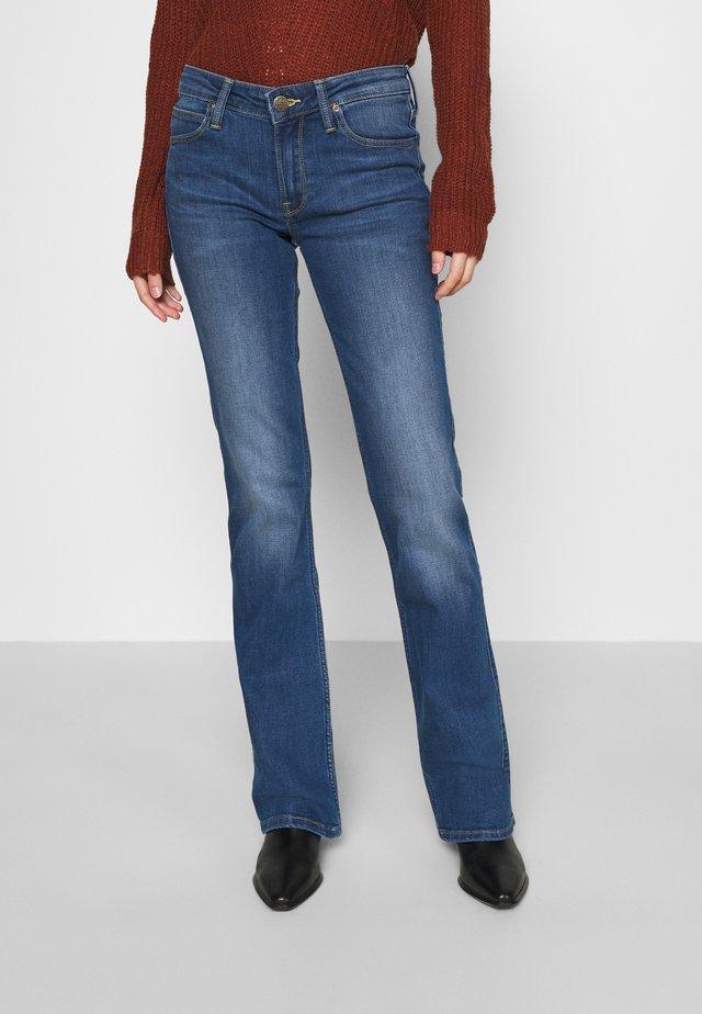 HOXIE - Jeans Bootcut - dark len