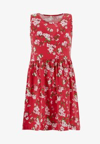 DeFacto - Jersey dress - red - 0