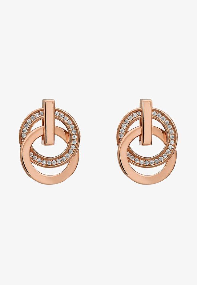 SWING - Earrings - rose gold-coloured