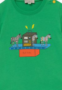 Paul Smith Junior - AZOU - Print T-shirt - kelly green - 3