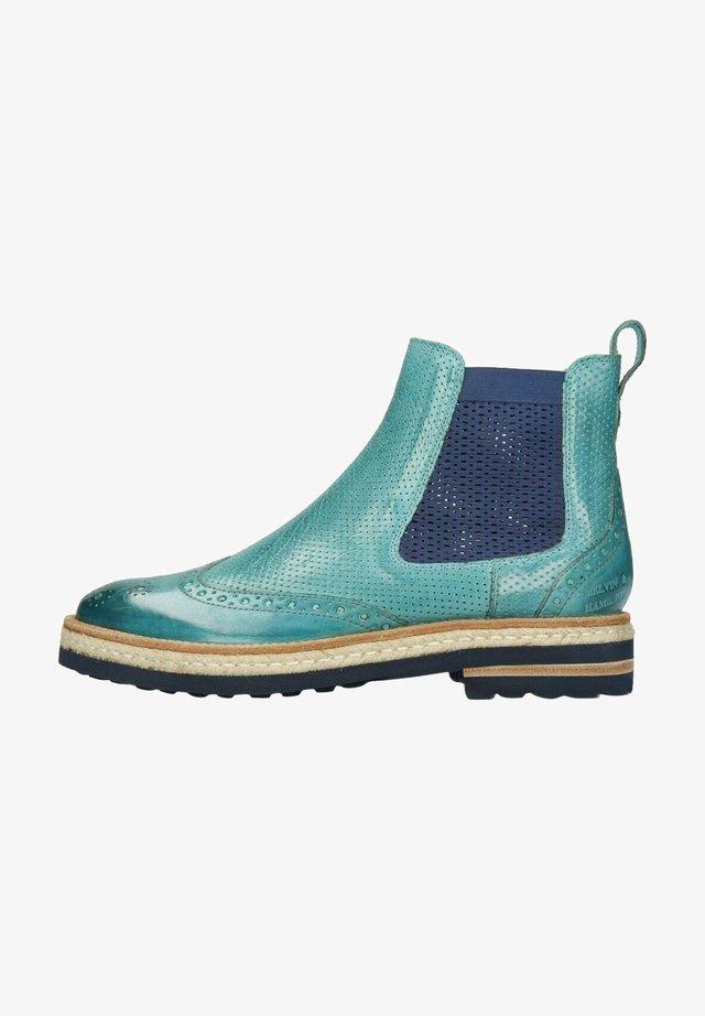 Korte laarzen - turquoise