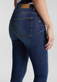 edc by Esprit - MIT ORGANIC COTTON - Jeans Skinny Fit - blue dark washed - 4